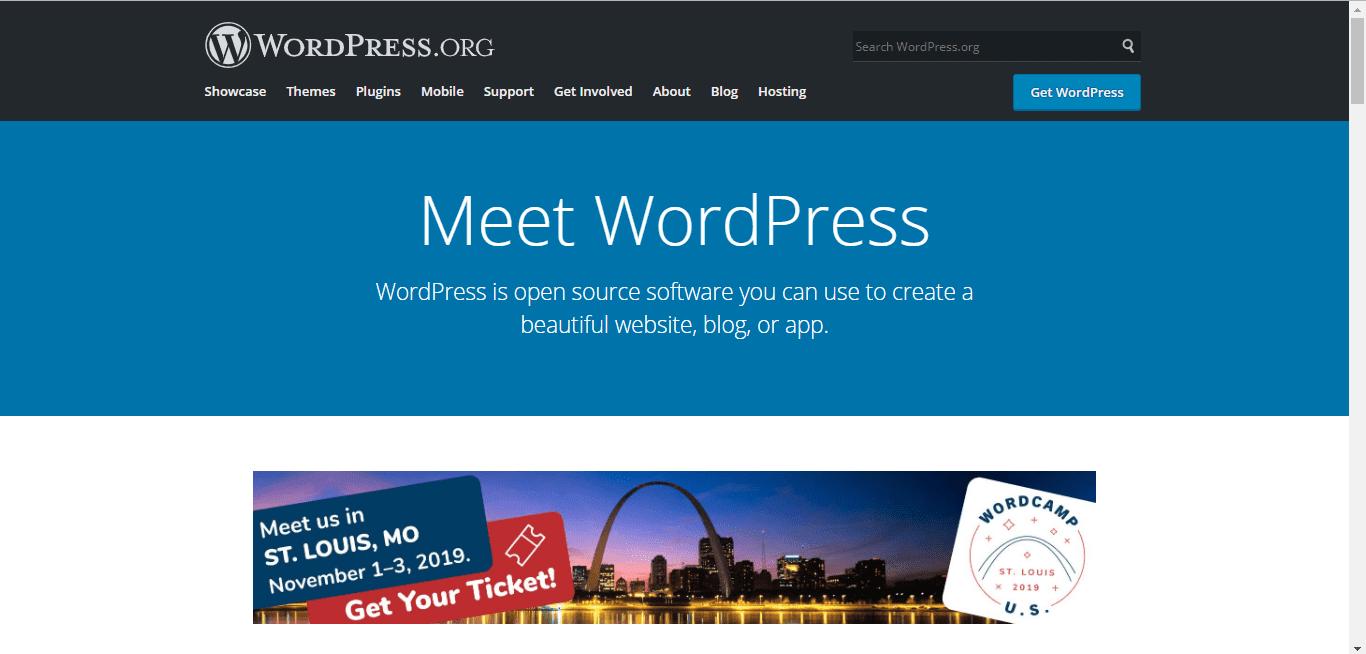 wordpress - build your website